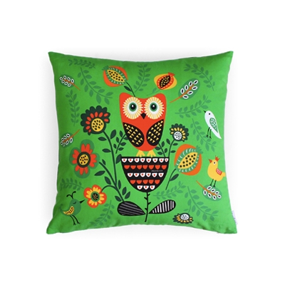Cushion Cover forest owl