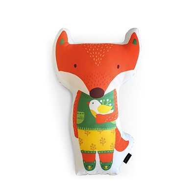 Animal Doll Cushion, Lunafox
