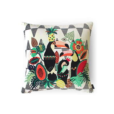Cushion Cover toucan